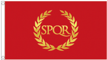Roman Empire 5'x3' (150cm x 90cm) Flag